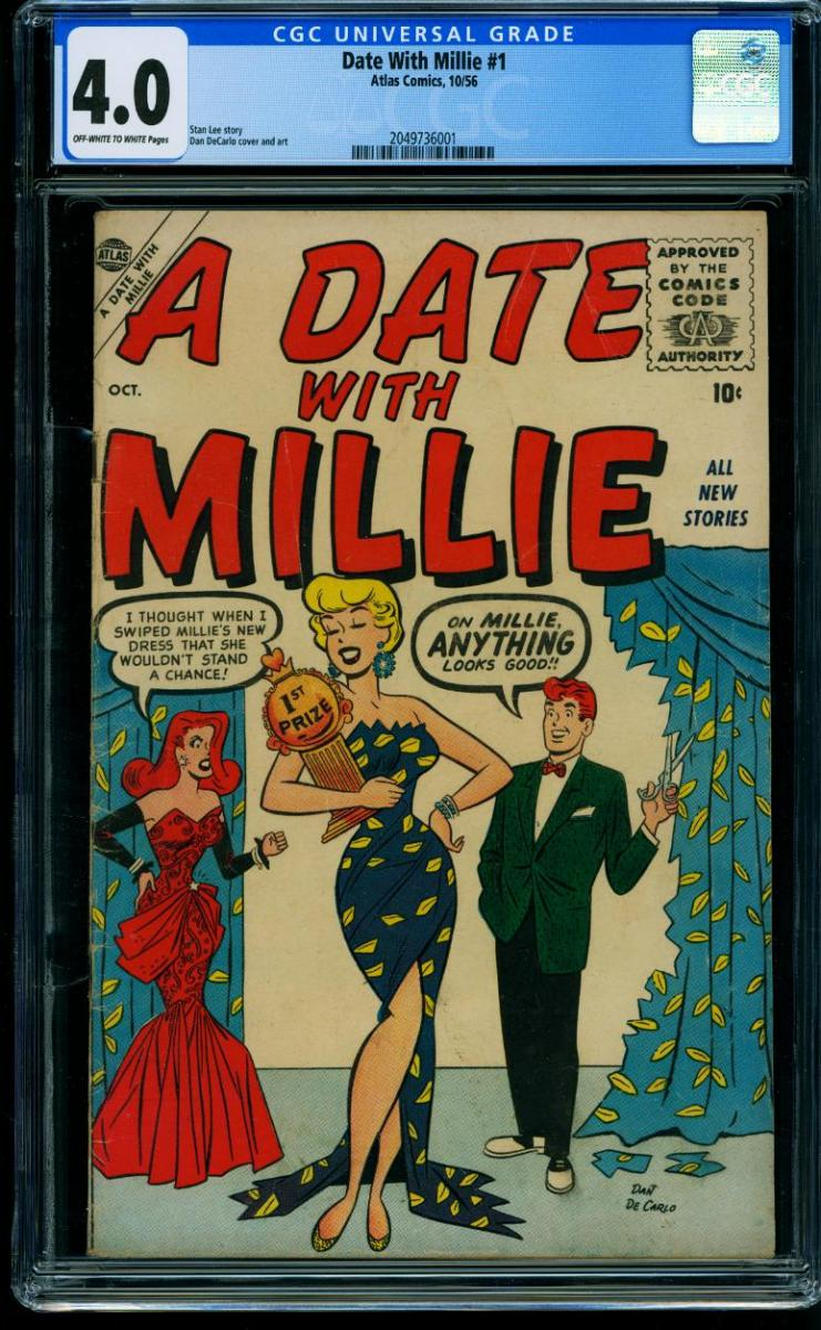 Cover Scan: DATE WITH MILLIE #1