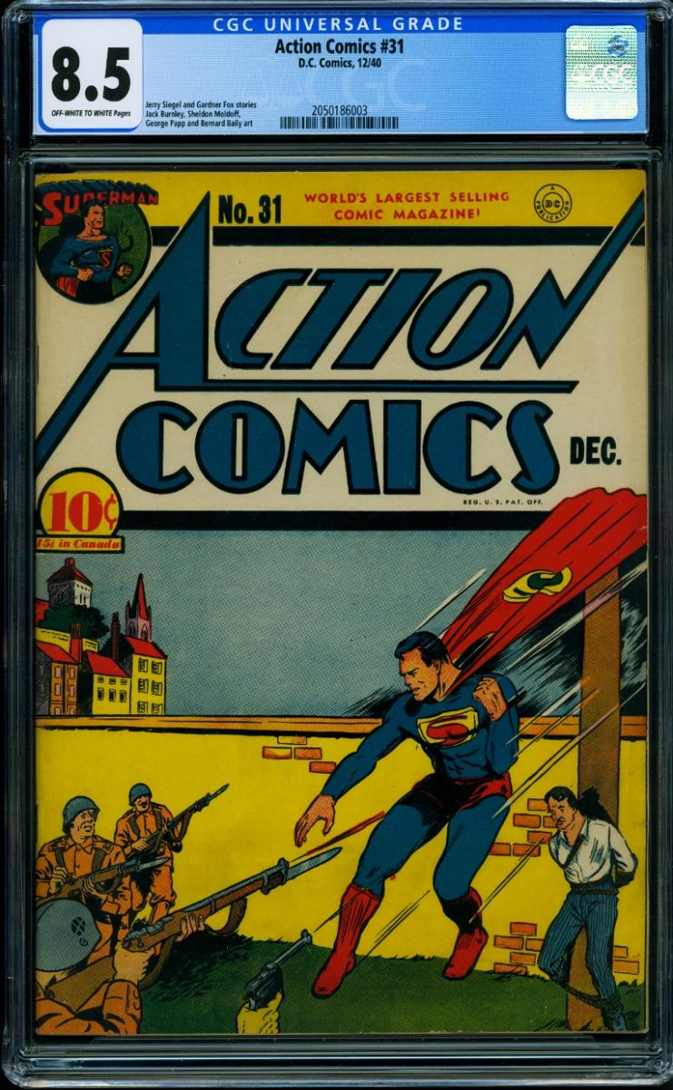 "Action Comics #31 ""Stay Of Execution"""