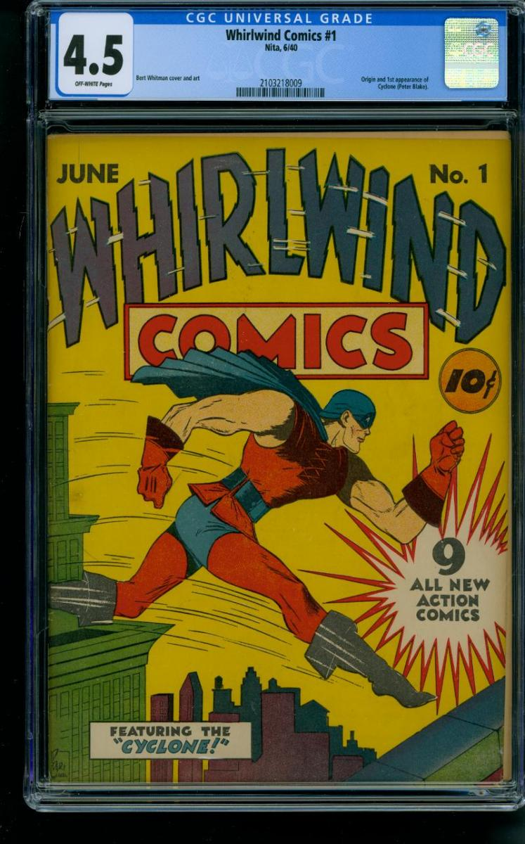Cover Scan: WHIRLWIND #1