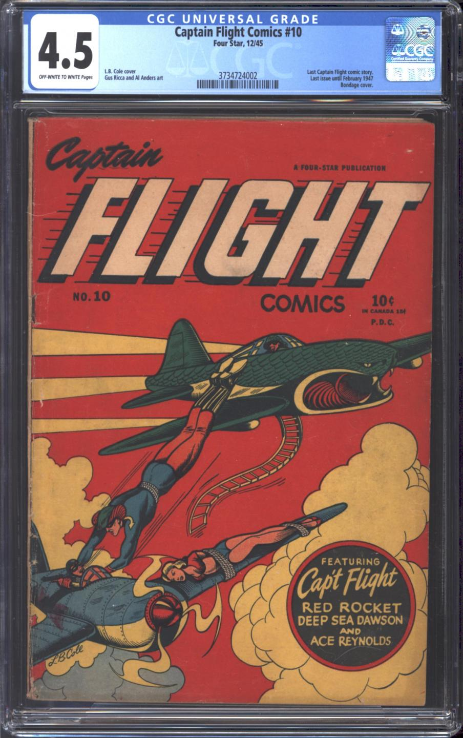Cover Scan: CAPTAIN FLIGHT #10