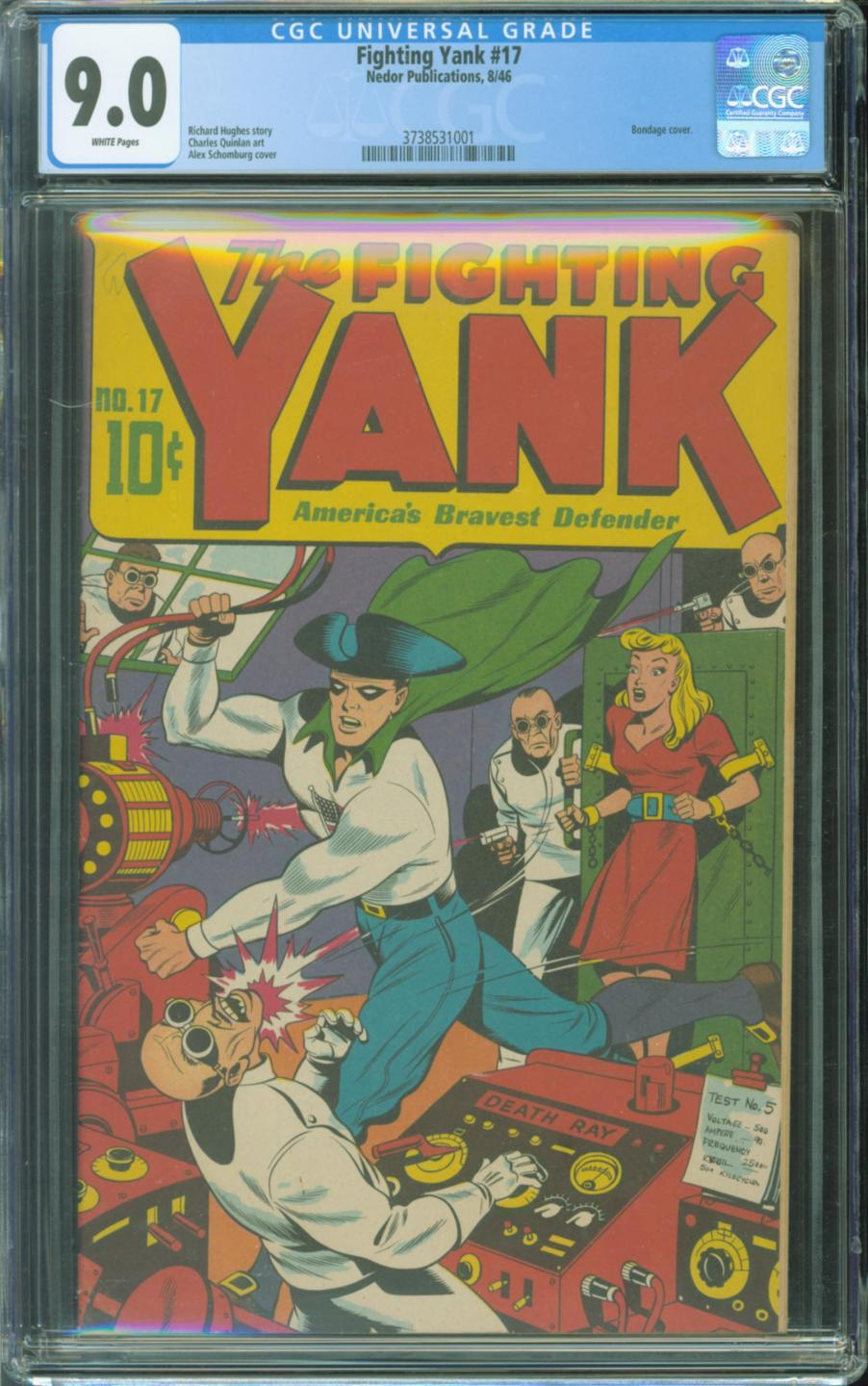 Cover Scan: FIGHTING YANK #17