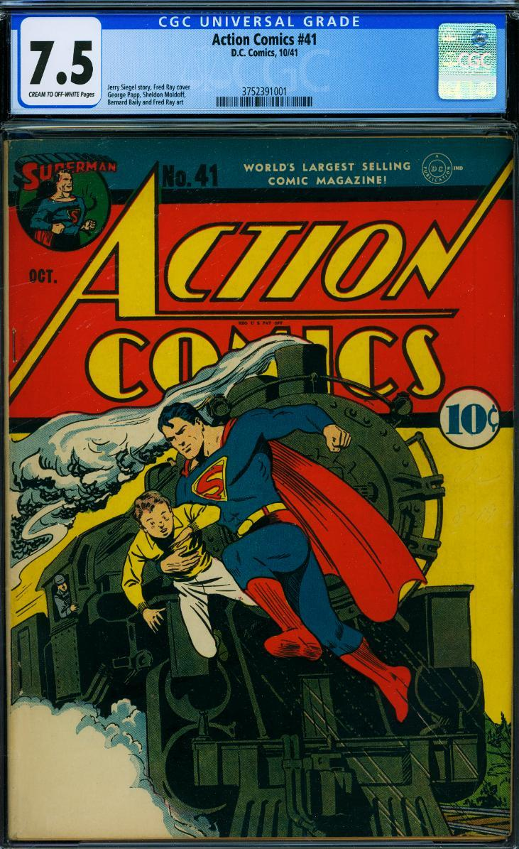 Cover Scan: ACTION COMICS #41